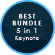5 Bundle Pack Keynote Template - GraphicRiver Item for Sale