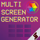 Multi Screen Generator - VideoHive Item for Sale