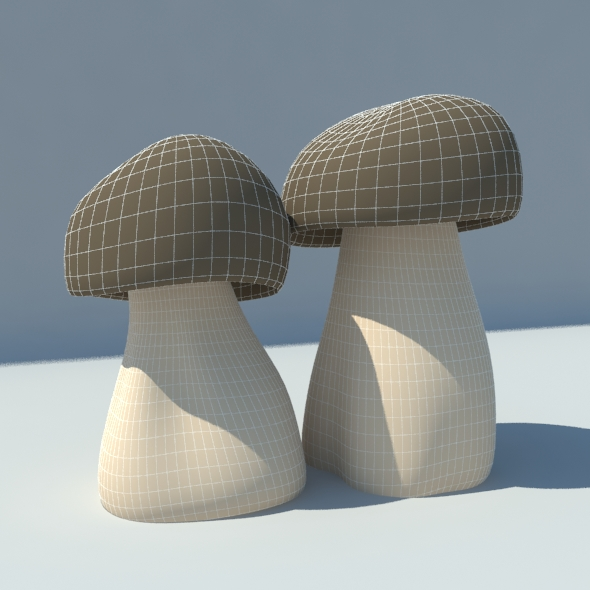 mushroom,fangus - 3DOcean Item for Sale