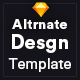 Altrnate Desgn website Design Template - ThemeForest Item for Sale