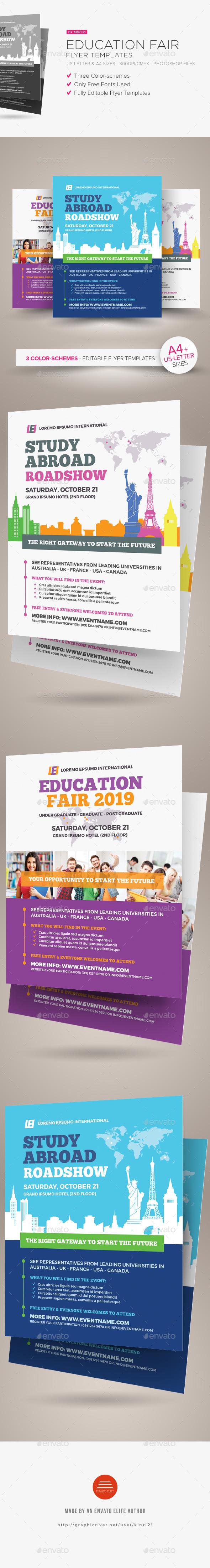 GraphicRiver Education Fair Flyer Templates 20806659