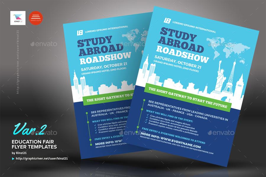 fair flyer education templates screenshots kinzi21