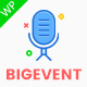 BigEvent- Conference Event WordPress Theme - ThemeForest Item for Sale