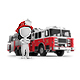 3D Small People - Fireman and Fire Truck