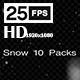 Snows 10 Pack HD