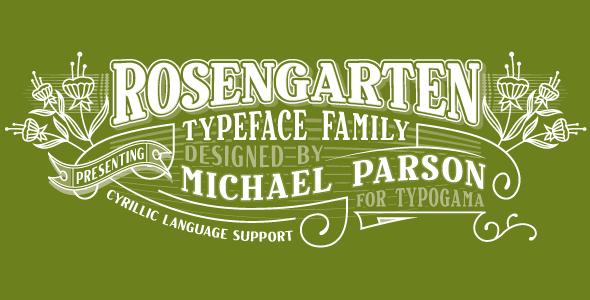 Rosengarten - Serif Fonts