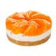 Cheesecake with fresh tangerine - PhotoDune Item for Sale