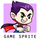 Vampire Boy Game Sprites - GraphicRiver Item for Sale