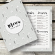 Winter Restaurant Menu - GraphicRiver Item for Sale