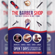 Barber Shop Flyer Template v3 - GraphicRiver Item for Sale