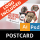 Charity Postcard - GraphicRiver Item for Sale