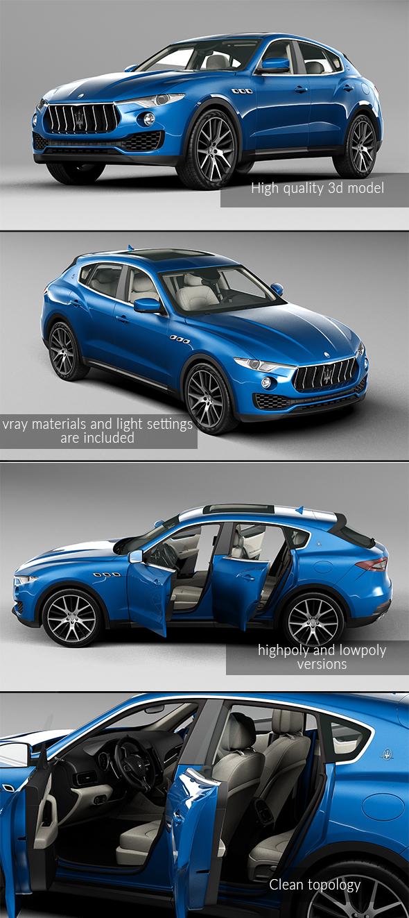 3DOcean Maserati Levante 2017 20807497