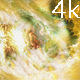 Space Flight Through Yellow Cosmic Nebula - VideoHive Item for Sale