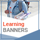 Learning Banners - GraphicRiver Item for Sale