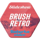 Brush Retro Slideshow