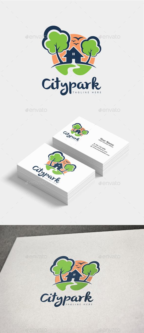 GraphicRiver Citypar Logo 20807777