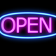Red Neon Sign Open - VideoHive Item for Sale