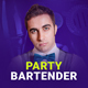 Party Bartender - Bartending Services / Catering / Rent A Bar Responsive Muse Template