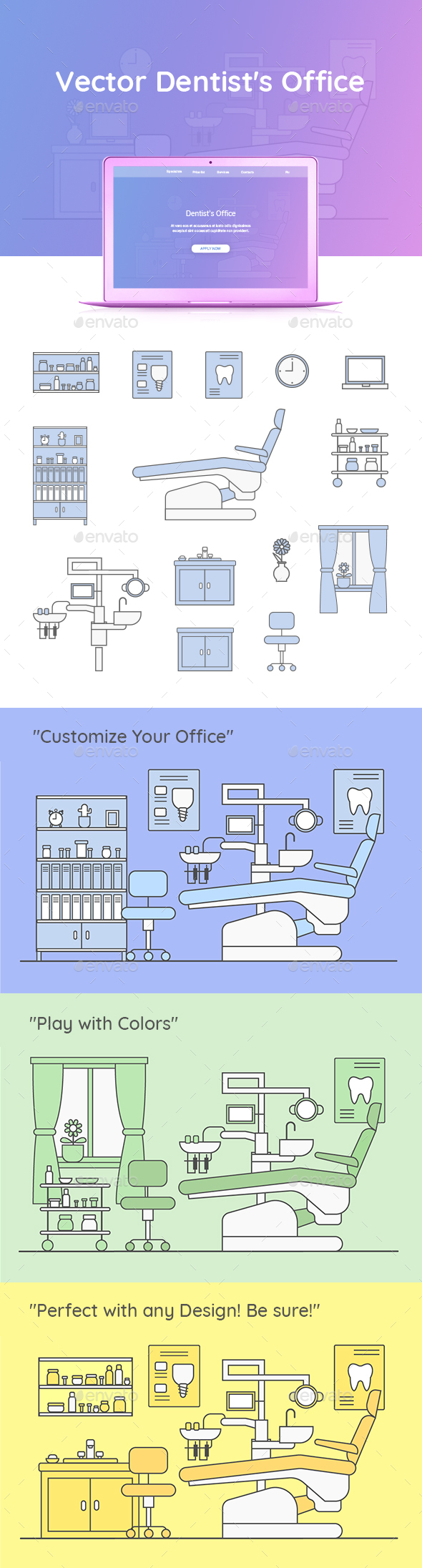 GraphicRiver Vector Dentist's Office 20807275
