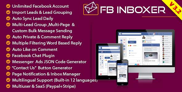 FB Inboxer - Master Facebook Messenger Marketing Software - CodeCanyon Item for Sale