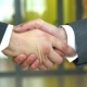 Two Business Men Shaking Hands - VideoHive Item for Sale