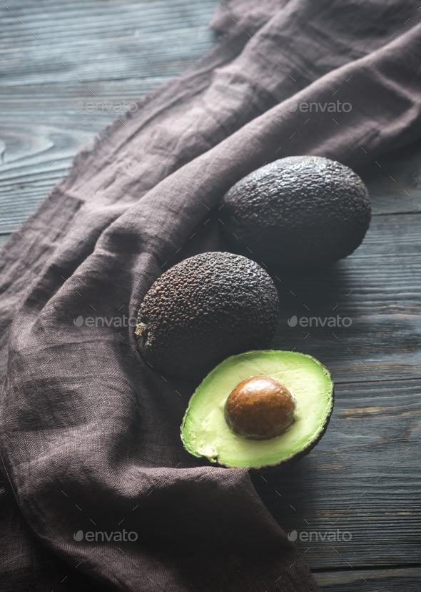 Avocado hass - Stock Photo - Images
