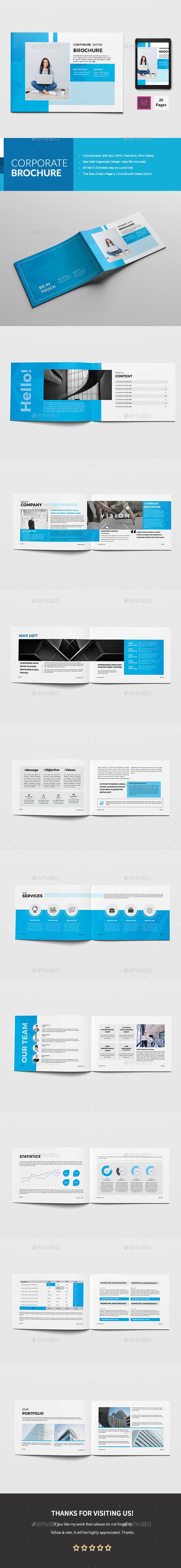 GraphicRiver A5 Corporate Brochure 20808360
