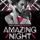 Amazing Night Flyer - GraphicRiver Item for Sale