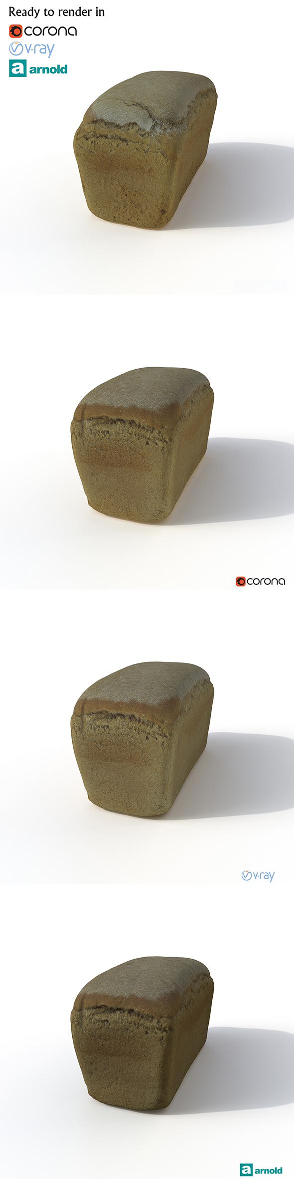 Bread - 3DOcean Item for Sale