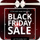 Black Friday Sale Flyer PSD - GraphicRiver Item for Sale