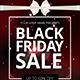 Black Friday Sale Flyer PSD