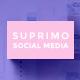 Suprimo Social Media Pack - GraphicRiver Item for Sale