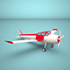 low poly Plane - 3DOcean Item for Sale