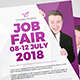 Job/Career Fair Flyer & Roll-Up Banner