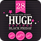 Black Friday Sales Flyer PSD - GraphicRiver Item for Sale