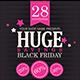 Black Friday Sales Flyer PSD