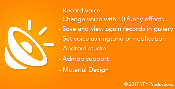 Voice Changer - Funny Voice - CodeCanyon Item for Sale