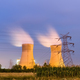 thermal power plant at night - PhotoDune Item for Sale