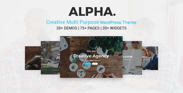Alpha Dot Multi Purpose WordPress Theme