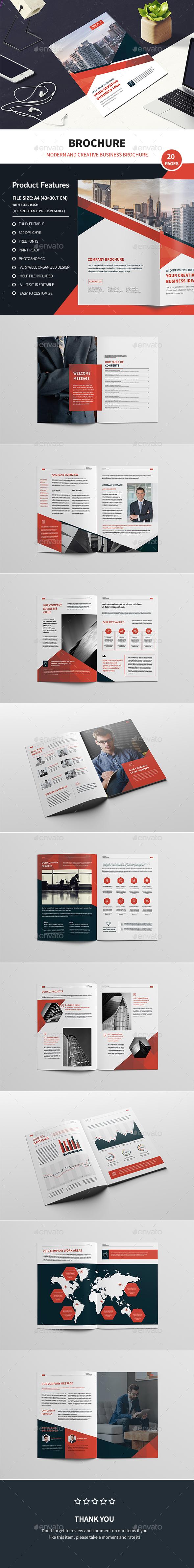 GraphicRiver Corporate Business Brochure 20809279
