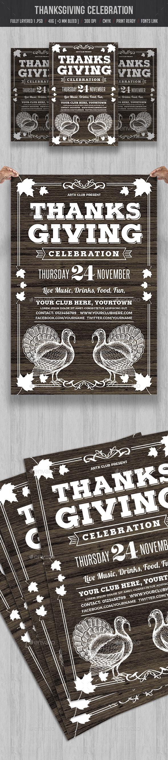 GraphicRiver Thanksgiving Celebration 20809329