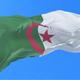 Algeria Flag Waving