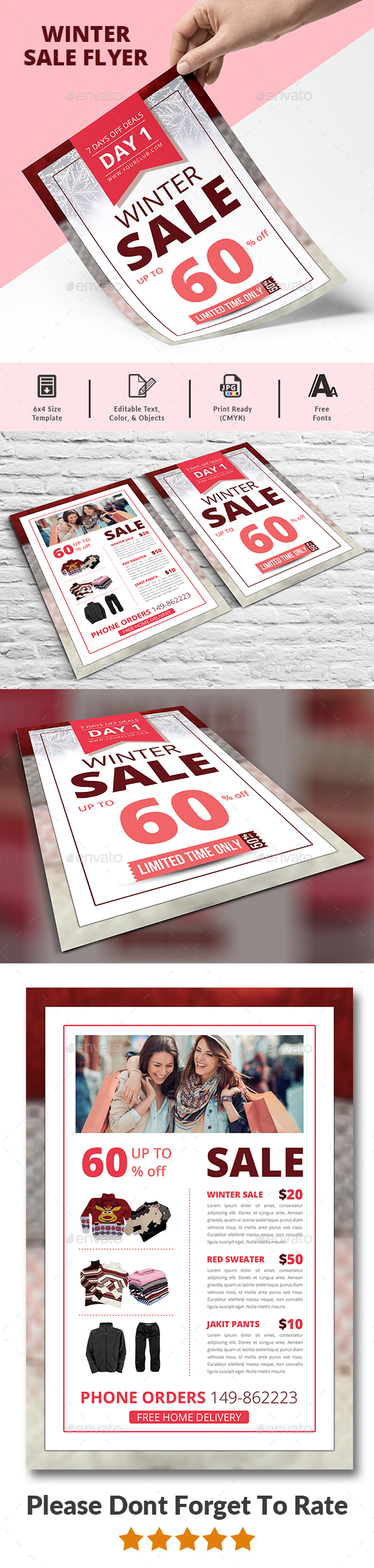 Product Promotion Flyer - Commerce Flyers