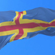 Aland Islands Flag