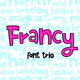 Francy Typeface - Creative Font Trio