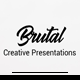 Brutal Google Slide Template - GraphicRiver Item for Sale