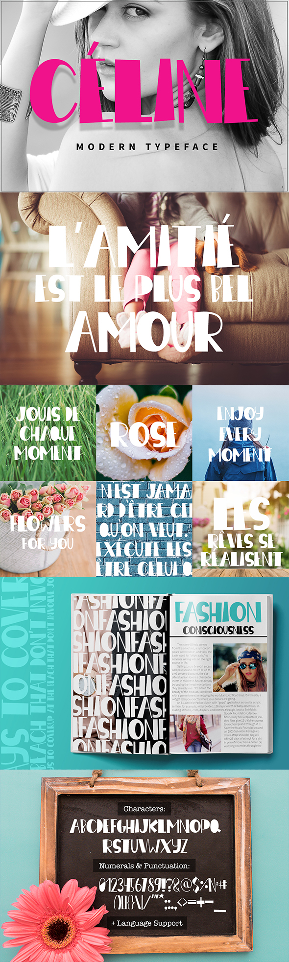 GraphicRiver Ce line Modern Typeface 20809948