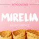 Mirelia font - brush typeface - GraphicRiver Item for Sale