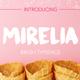 Mirelia font - brush typeface
