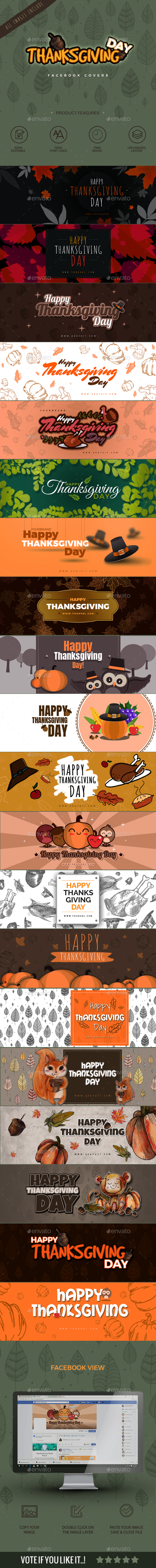 20 Thanksgiving Facebook Timeline - Facebook Timeline Covers Social Media